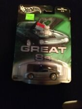 HotWheels Auto Affinity Great 8's silver C6 Corvette w/Real Rider's new on pack