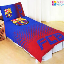 FC BARCELONA FADE FOOTBALL SOCCER TEAM CLUB SINGLE DUVET COVER PILLOW CASE NEW