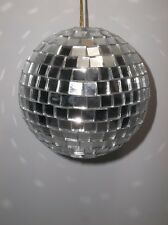 Vintage Mirrored DISCO BALL Christmas Ornament 4""