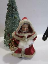 Vintage Clothtique Possible Dreams Mrs. Santa Claus Figurine Decoration 1990