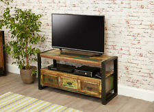 Baumhaus Urban Chic Funky Television Cabinet - Reclaimed Wood