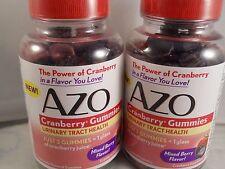 AZO Cranberry Gummies Mixed Berry 72 ct each (2pks) Urinary Tract Health