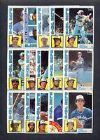 1984 Topps Toronto Blue Jays TEAM SET w/ Traded (33) Cards