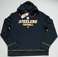 e7ba44ce4 PITTSBURGH STEELERS MEN S TX3 WARM HOODED SWEATSHIRT HOODIE M L XL 2X  POLYESTER