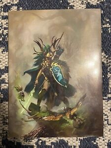 Warhammer Armies WOOD ELVES Limited Collector's Edition Army Book 009/1000