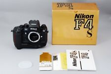 【EXC+++++ in Box】 Nikon F4S LATE MODEL 35mm SLR Camera w/ MB-21 From Japan #425