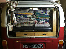 VW Camper T2 T25 T4 Van Picnic Blanket Travel Rug Splitty Split Screen Camping