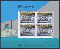 Portugal 1986 Mi. Bl. 50 Block 100% Postfrisch EUROPA CEPT