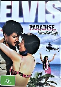 ELVIS [PRESLEY] Paradise Hawaiian Style DVD MUSICAL MUSIC VERY RARE NEW R4