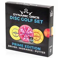Prime Disc Golf Starter Set Distance Driver Midrange Driver and Putter ExtraGrip