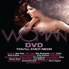 Only Woman DVD Rihanna Lady Gaga Duffy Katy Perry Lily Allen Katie Melua Spears