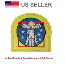 Space Explorer Iron On / Sew On Embroidery Patches motif  rocket man Astronaut
