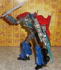 Transformers OPTIMUS PRIME Prime Rid Complete Robots in Disguise Voyager Lot