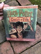 NEW Harry Potter and the Goblet of Fire-J.K. Rowling Audio Book 17 CD Disc Set