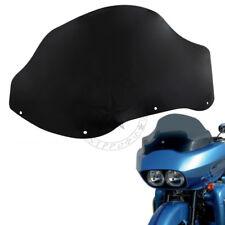 Black 12.5'' Wave Windshield Windscreen for Harley Road Glide FLTR FLTRX 1998-13