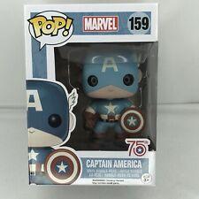 Marvel 75th Anniversary Funko Pop - Captain America #159 - Vinyl Bobble Head