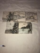 Harmony Kingdom Picturesque Wimberley Tales Lot Of 5
