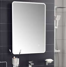 Designer Illuminated LED Bathroom Mirrors | IP44 | Bluetooth Connection System