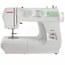 Janome 2212 12-Stitch Full Size Freearm Sewing Machine With Bonus Package