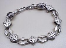 Armband Gliederkette Silber 925 Biker Gothic Keltisch Mittelalter Celtic Herren