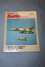 Vintage 1980 Born in Battle Magazines (3 Available at $12.00 EACH)