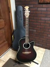 Ovation Celebrity Acoustic Electric Guitar   CC 057 Made In Korea w/ Hard Case