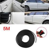 16ft Edge Door Guard Trim Car Moulding Guards Auto Molding Protector Strip Black