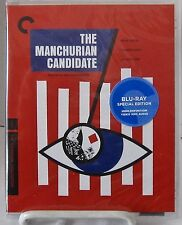 The Manchurian Candidate Blu-ray Disc, Criterion March-2016, 1962 J. Frankenheim