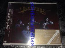 Dong Bang Shin Ki Single Together CD DVD NEW Sealed Tohoshinki TVXQ JYJ Limited