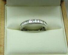 Fabulous Vintage Platinum And 2.00ct Set Diamond Full Eternity Ring