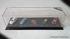 ÜEi Diorama Porsche Edition 4 Mini Autos im Display Überraschungsei NEU OVP
