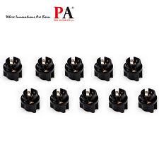 50x 74 PC74 73 T5 Dashboard Light Bulb Socket Twist Lock Wedge instrument Base