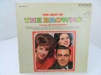 The Browns The Best of LP Record Album Vinyl