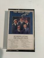 The Valley Four, Cassette, He Keeps Lifting, Praise, Vintage, Worship,