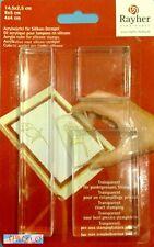 BULLET JOURNAL SCRAP - Set 3 cubetti blocchi plexiglass per timbri in silicone