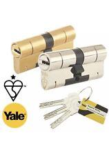 YALE Superior Euro Cylinder 35/55 Brass Anti-Bump Snap, uPVC Door Lock