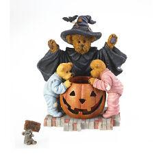 Boyds Bear Halloween Witchella with Peek Boo & Nibbley  NWT!! #4022267