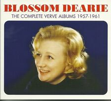 BLOSSOM DEARIE THE COMPLETE VERVE ALBUMS 1957 - 1961 - 3 CD BOX SET