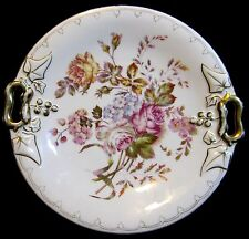 Antique Victorian CT Carl Tielsch Double Handle Cake Plate Charger 1885-1900