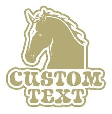 """Horse """"Your Name"""" truck, trailer, farm, rodeo Decal"""