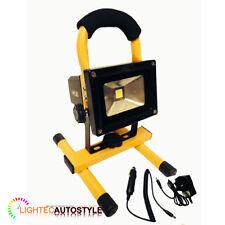 10W Portable haute puissance blanc LED travail lumière rechargeable flood light camping