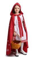Girls Book Week Kids Deluxe Little Red Riding Hood Fairytale Storybook Costume