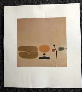"VICTOR PASMORE CH 1908-88 ""Three Images"" Cavendish Press Print 1978"
