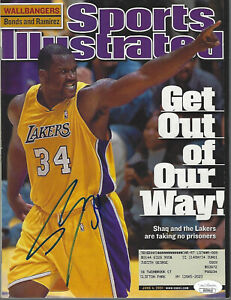 Shaquille O'Neal Signed SI Sports Illustrated JSA COA