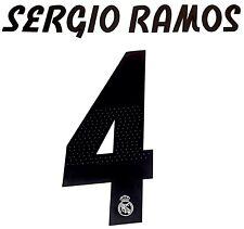 2018-19 Real Madrid Ucl Home Camiseta Sergio ramos #4 sportingid nombre número Set