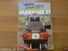 MOTORVISIE JAARBOEK 81 50 MOTORCYCLE TEST LAVERDA,GUZZI,KAWA,HONDA,