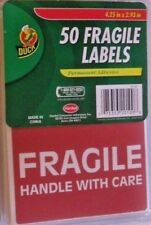 Fragile Stickers Handle With Care Labels Permanent 50 In Pack See My Other Items