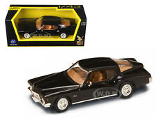 1971 BUICK RIVIERA GS BLACK 1/43 DIECAST MODEL CAR BY ROAD SIGNATURE 94252