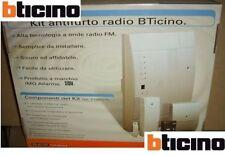 Bticino KIT ANTIFURTO RADIO C100G/1 CENTRALE SICUREZZA ANTINTRUSIONE CASA SICURA