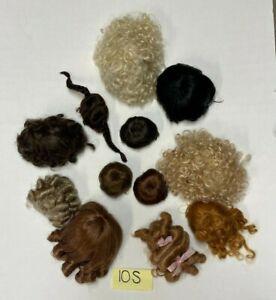 Little Darling/Boneka/Keepsake Wig Lot- Sizes 6-11